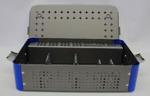 Empty Orthopedic 4 5mm Cannulated Screw Rack Instrument Case Small 1 Level