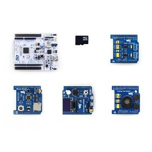 Nucleo f103rb Pack B Development Board With Oled Rtc Ad da Audio Codec Rs485 Can