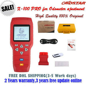 X100 Pro D Type Special For Odometer Ajustment Mileage Correction