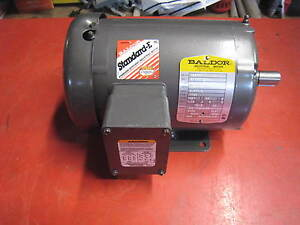 New Baldor Industrial Motor M3546t 1hp 1740rpm 230 460v 2 8 1 4a Free Shipping