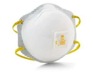 3m 8211 White Standard N95 Molded Cup Particulate Respirator Pack Of 10