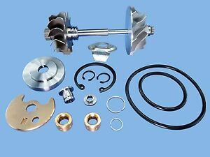 91 98 Volvo 940 2 3 Td04hl 13c Turbo Charger Comp Wheel Shaft Rebuild Kit