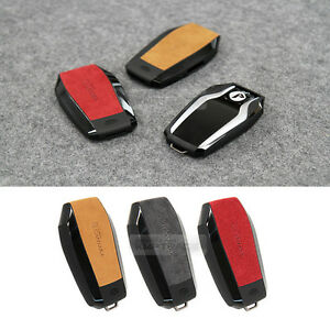 Alcantara Display Smart Key Case Cover Holder 3 Color For Bmw 15 18 G30 G11 G12