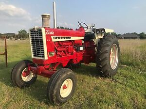 1966 Farmall 1206 Fully Restored Engine Runs Perfect 4200 Hours New Paint