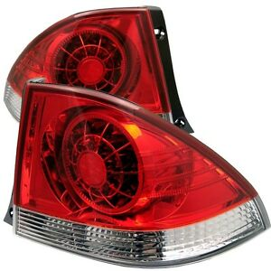 Spyder Auto Lexus Is 300 01 03 Led Tail Lights Red Clear Alt Yd Lis300 Led Rc