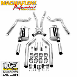 Magnaflow Cat Back Dual Exhaust System 1967 1970 Ford Mustang 4 7l 6 4l 15816