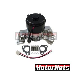 Sbf 289 302 Small Block Ford High Flow Polish Aluminum Electric Water Pump