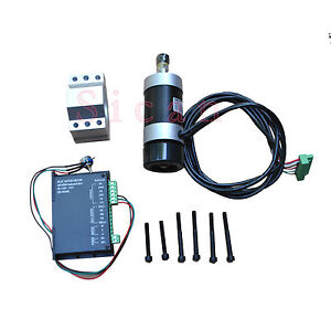 400w Dc Brushless Spindle Motor Driver Mach3 Controller Cnc Motor Kit