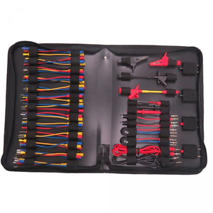 Automotive Diagnostic Kit 70pcs Multimeter Test Lead Kits Set Tools Electronic