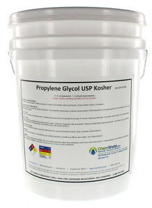 Chemworld Propylene Glycol Usp Made In Usa 99 9 Concentrate 5 Gallons