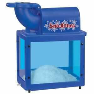 Gold Medal Sno king Sno kone 1888 Ice Shaver 500 Lbs hr
