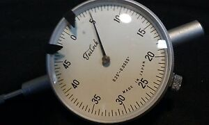 Teclock Dial Indicator 0 25 0 0005 Never Used