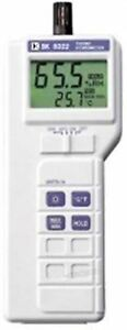 New Bokles Bk8322 Temperature humidity wet Bulb dew Point Measuring Meter Tes Cw