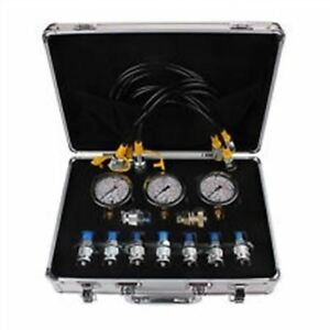 New Hydraulic Pressure Gauge Tester Kit Hydraulic Clutch For Excavators H