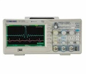 New Siglent Sds1072cnl 70mhz Digital Oscilloscope W 2 Channels 40kpts