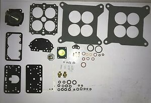Marine Omc Holley Carb Kit 4 Barrels List 50469 80319 80383 600cfm Ford 351