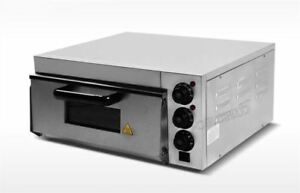Commercial Use Electric Pizza Oven With Timer For Making Bread Cake Pizza 2 Vt
