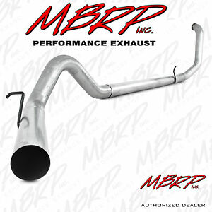 Mbrp S6200plm 4 Turbo Back Exhaust 1999 2003 Ford F250 F350 7 3l Powerstroke Nm