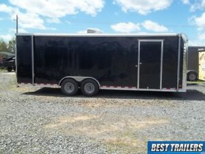 8 X 24 Race Ready Pace Enclosed Finsihed Carhauler Trailer Cargo Car Hauler