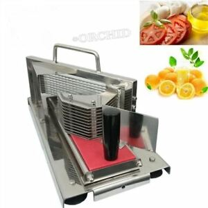 Commercial Manual Fruit vegetable Slicer Tomato Lemon Cutter Slicing Machine Km