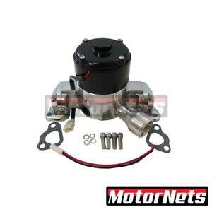 Polished Aluminum Small Block Ford 351c Electric Water Pump High Flow Volume Sbf