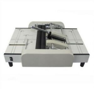 1pc Heavy Duty A4 Size Desktop Automatic Electronic Paper Cutter Stack Paper Ls