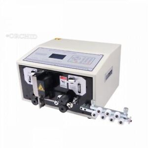 220v Automatic Cutting Machine New Swt508 e Computer Controlled Wire Striping