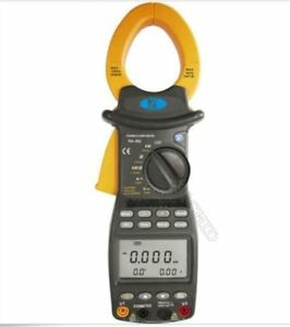 Three Phase Harmonic Power Clamp Meter With Pc Rs 232 Interface Brand New Ms