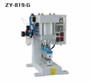 Automatic Stamper Pneumatic Hot Foil Stamping Machine Logo Leather Wood 220v
