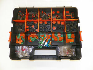 518 Pc Usa Black Deutsch Dt Connector Kit Solid Terminals Removal Tools