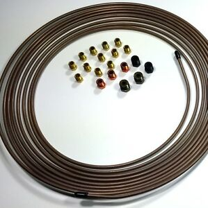 Copper Nickel Tubing 3 16 25 Ft Roll With Fitting Kit