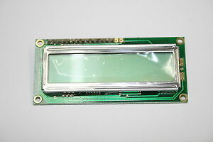 Lot Of 10 Lumex Lcm s01602dsr a 5x8 Dot Matrix Lcd Character Display Modules
