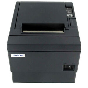 Epson Tm t88ii Thermal Receipt Printer With Parallel Interface With Power Supply