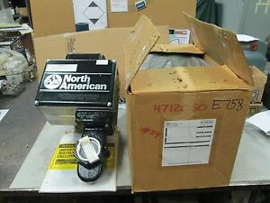 North American Motorized Shut Off Valve 2 1519 4 Nat Gas 120 60 2 Fnpt nib