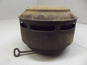 Vintage Oil Bath Air Cleaner Chevrolet Ford 1950 1955 1957 1951 1953 Chevy