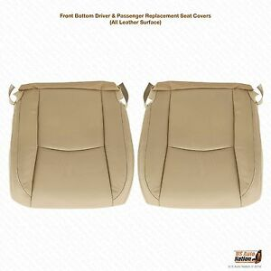 Driver Passenger Leather Bottom Covers For 2003 2009 Lexus Rx330 Rx350 Rx400