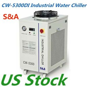 Usa Stock Cw 5300di Industrial Water Chiller 0 91hp Cooling Ac 1p 110v 60hz