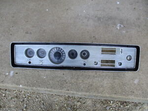 1965 Mercury Montclair Instrument Cluster With Dash Radio Bezel 65 Oem 352 Fe V8