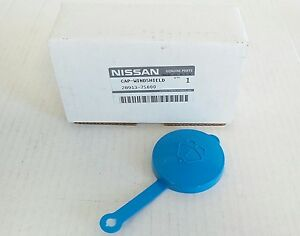 Nissan Armada Titan Windshield Washer Fluid Reservoir Bottle Tank Cap Oem New