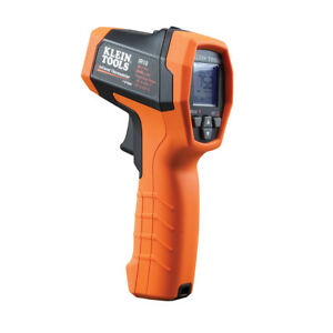 New Klein Tools Ir2000a 12 1 Infrared Thermometer Auto Scan W Dual Lasers