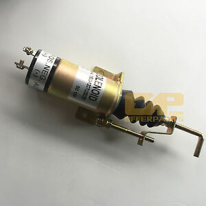 Shut Off Solenoid Valve Stop Solenoid 1502 12c7u2b2s1 For Lister Petter Engine