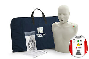 Prestan Cpr Light Skin Manikin W monitor American Red Cross Cpr aed Trainer