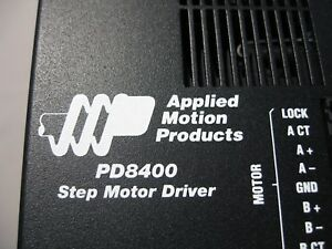 Applied Motion Products Pd8400 Packaged Step Motor Driver new 8 4 Amps