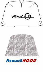 1953 1956 Ford Truck F 100 Under Hood Cover With F 044 Ford F 100