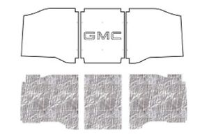 1960 1966 Gmc Truck Under Hood Cover With G 001 Gmc