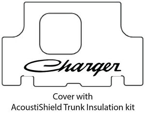 1971 1974 Dodge Charger Trunk Rubber Floor Mat Cover With Mb 050s Charger Script