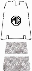 1962 1980 Mg B C Gt Acoustihood Under Hood Cover With Mg 01 Mg Logo