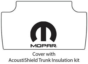 1962 1964 Dodge Dart Trunk Rubber Floor Mat Cover With M 006 Mopar