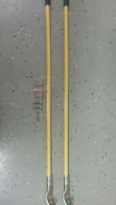 Snow Plow Bumper hitch Markers Yellow 26 Inch New 2 Per Pack