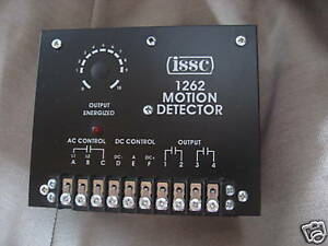 Issc Solid State Motion Detector 1262 1 l w b1